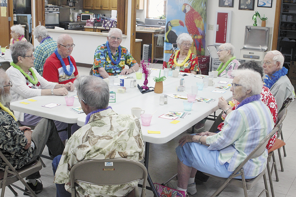 A taste of Hawaii at the Charles City Senior Center