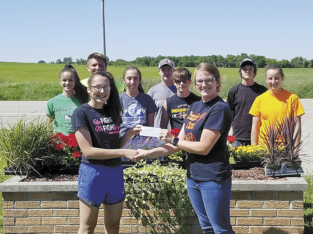Bluhm's graces fairgrounds with donations and a little color