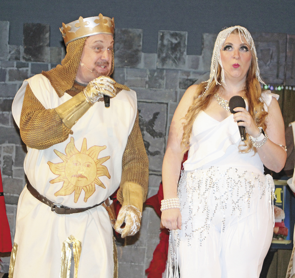 Stony Point's 'Spamalot' cast ready to fill North Grand with music and belly laughs