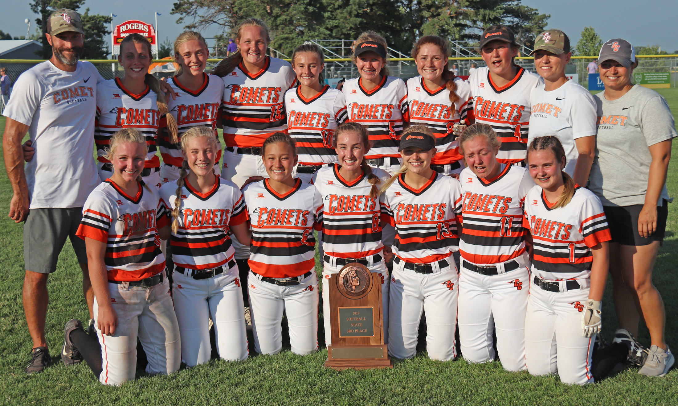 Comets rally back to take 3rd at State