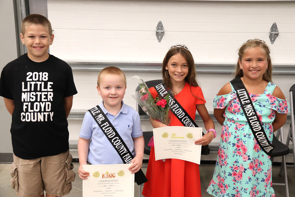 Little Miss/Mister Floyd winners announced during fair