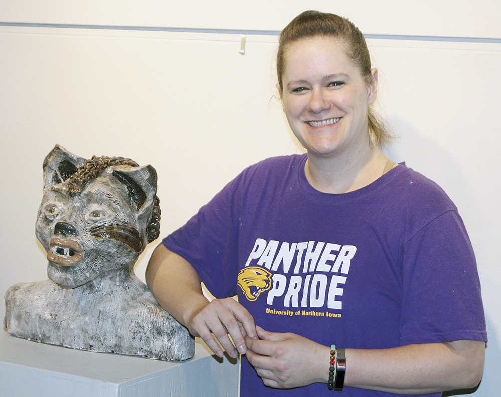 Finished and unfinished, Nelson's art featured in July at CCAC