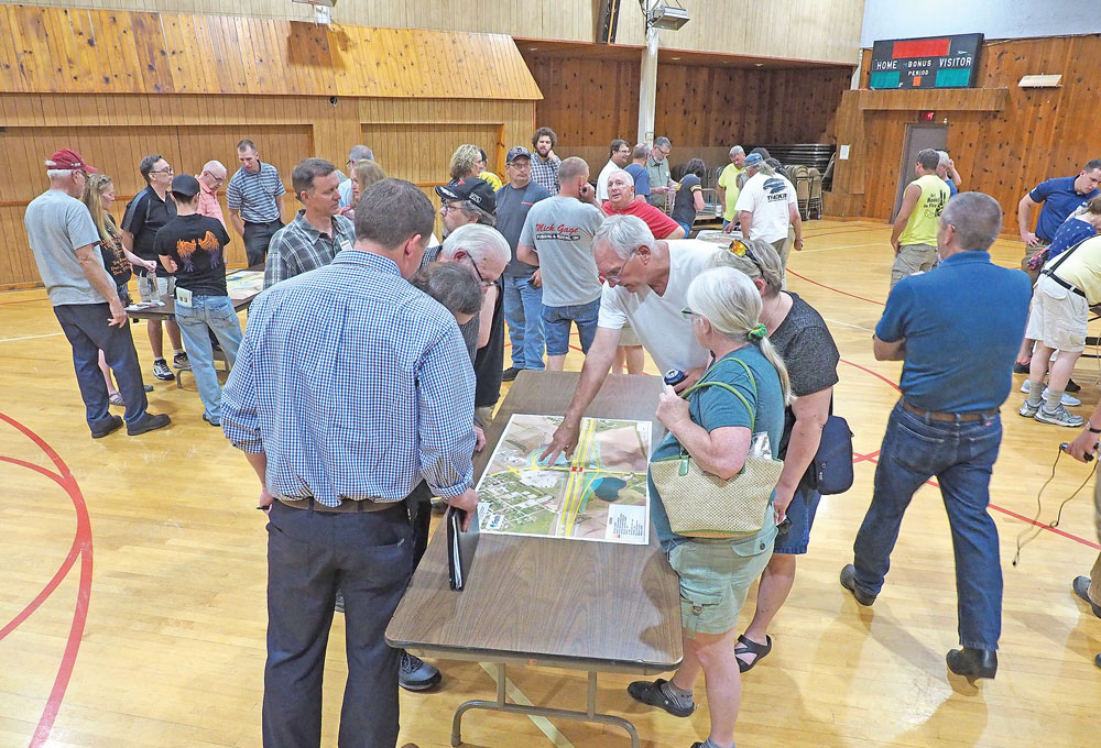 Lots of interest shown at Floyd overpass meeting