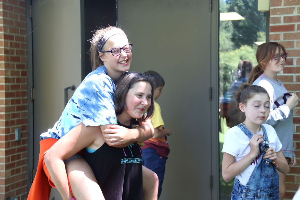 Kids enjoy final day of vacation bible school at Messiah Lutheran Day Camp