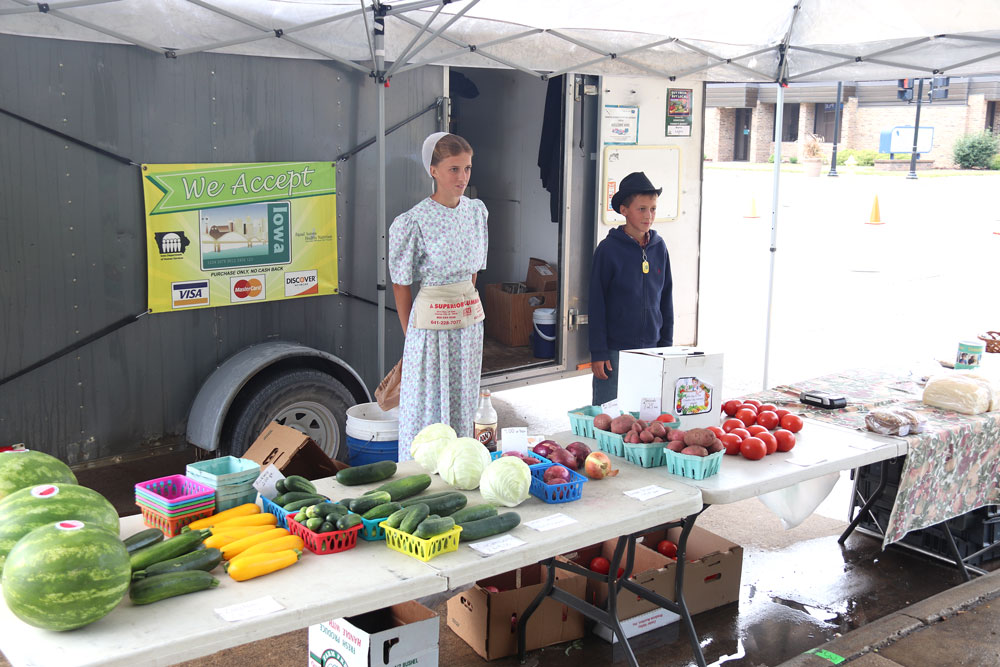 Farmers market a community-driven tradition in Charles City