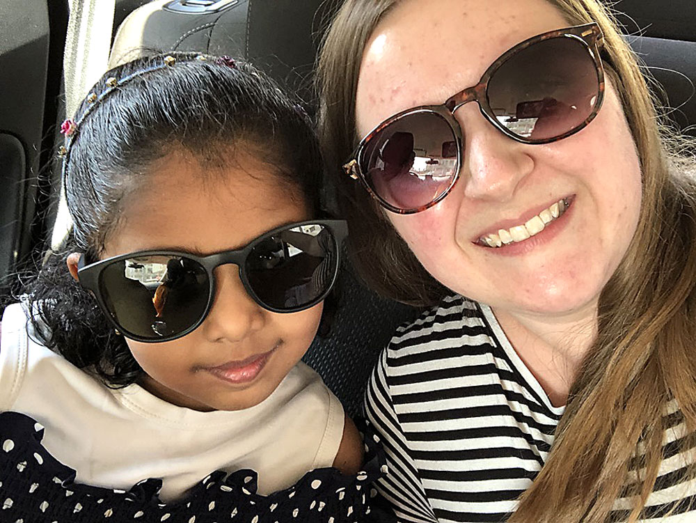Jaime DeBruyn finds her calling helping children find families in India