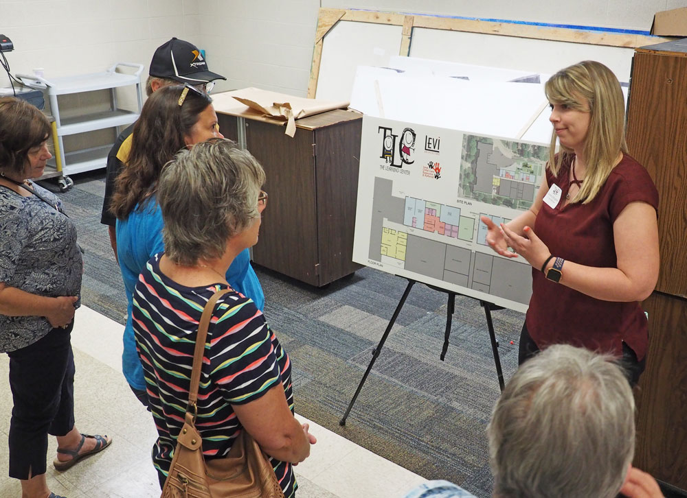 TLC shows plans, enlists support at open house
