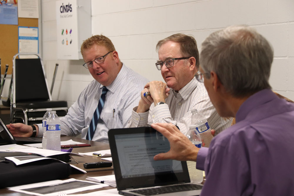 City Council holds planning session at CVTC