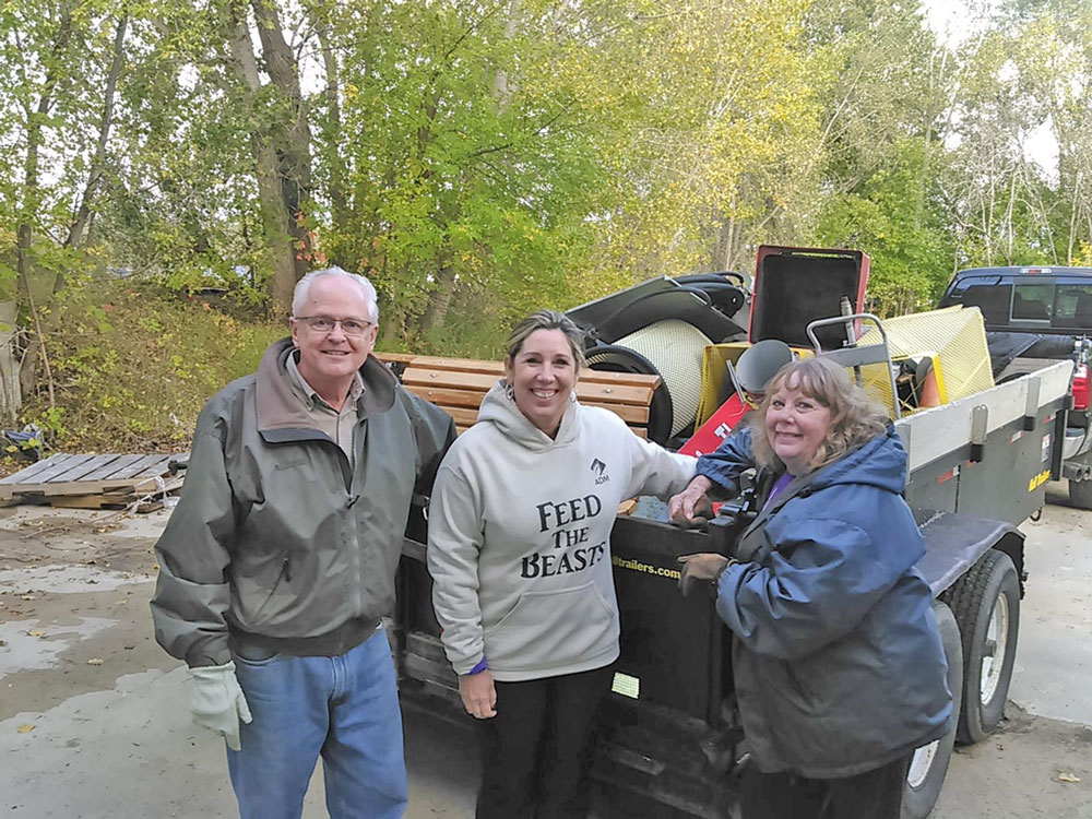 Charles City Rotary continues collecting metal in scrap drive
