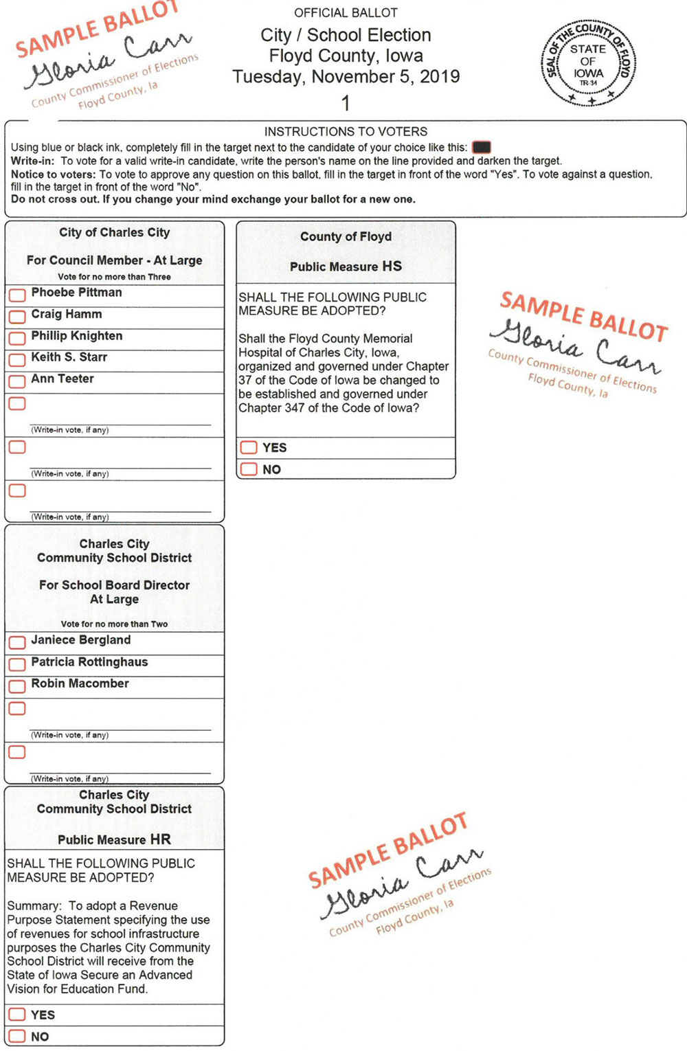 Absentee voting open now for city/school general election