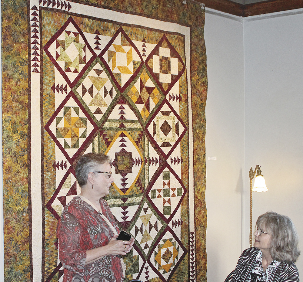 Reception for Patchwork Pals quilters held at CCAC