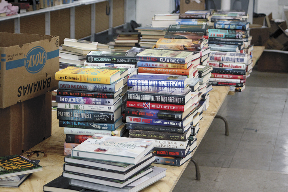 Lions book sale bigger than ever this year