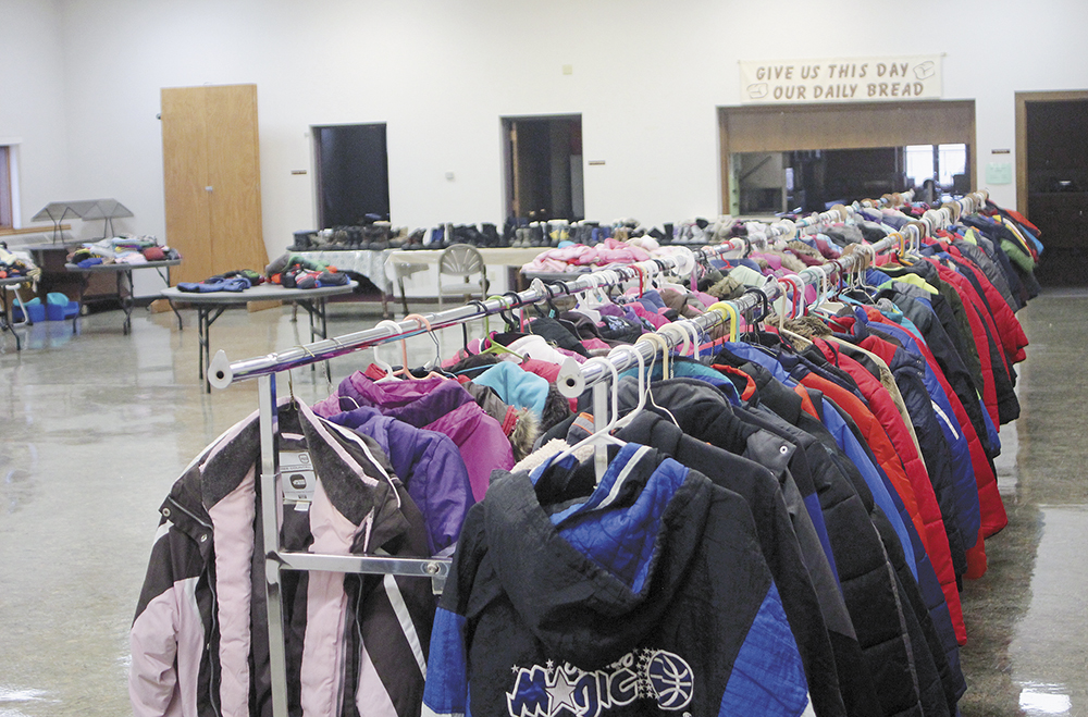 Nearly 200 'Coats For Kids' given away Saturday morning