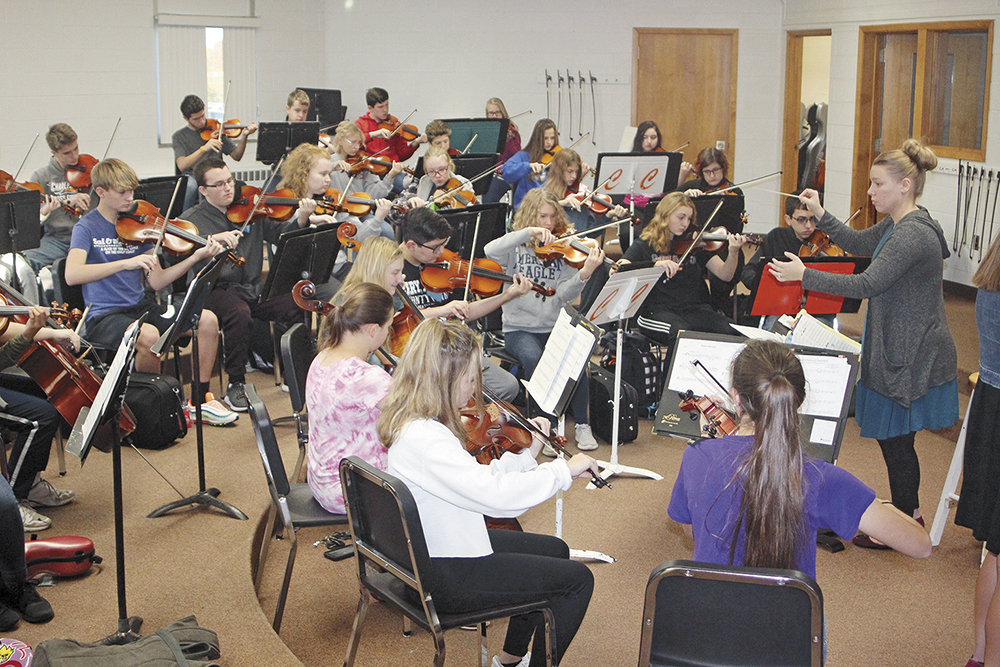 CCHS orchestra to perform Monday