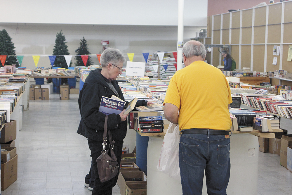 Lions kick off annual book sale