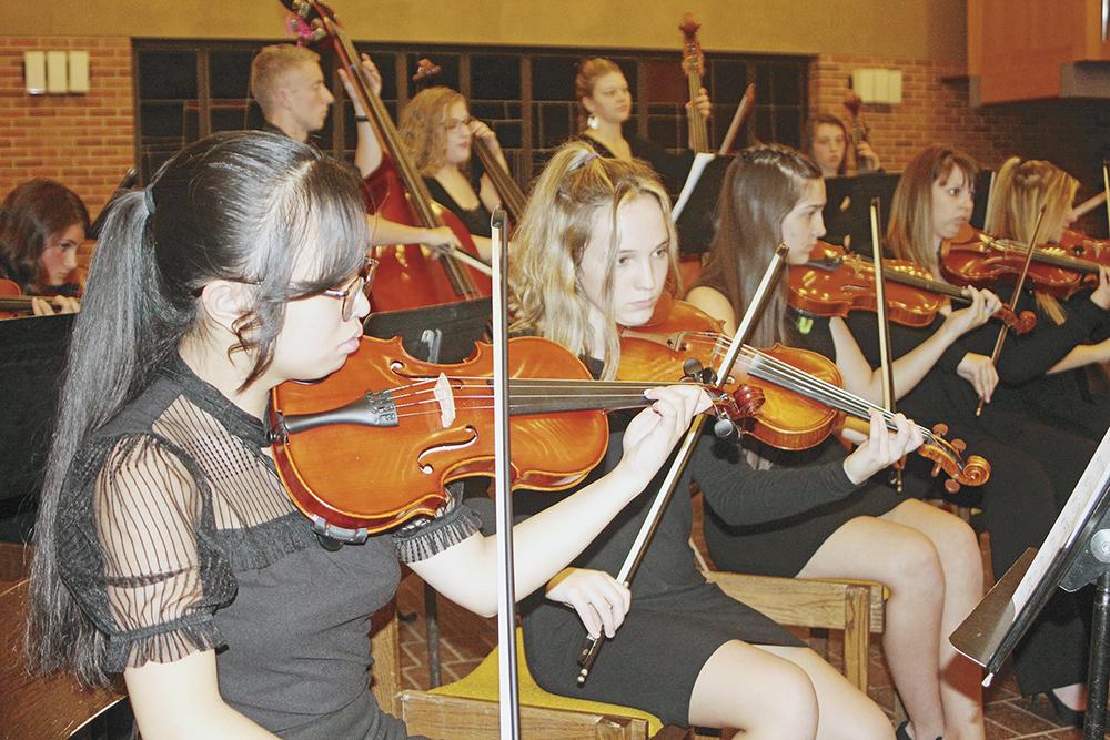 CCHS Orchestra presents 'A Fall Concert'