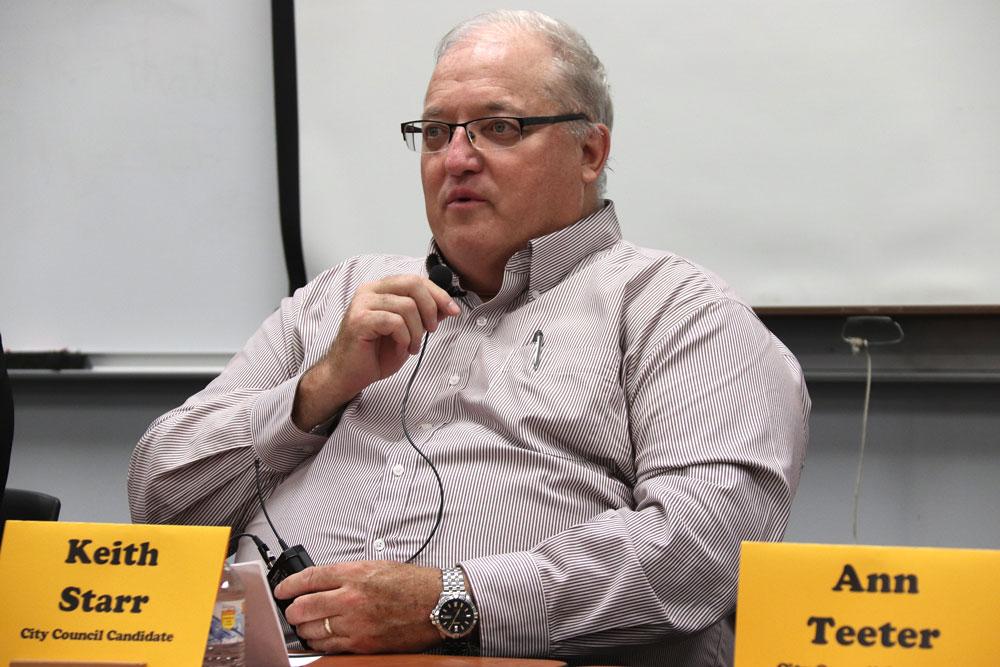 Pittman, Knighten elected to City Council; Starr receives third term