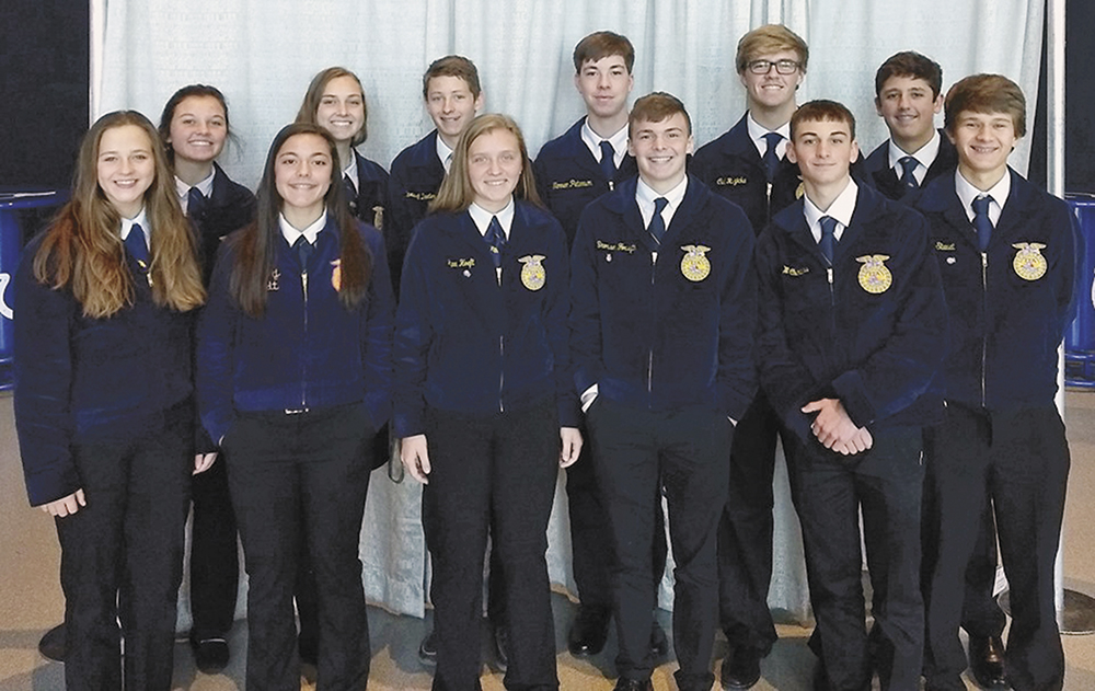 Charles City FFA members attend national convention