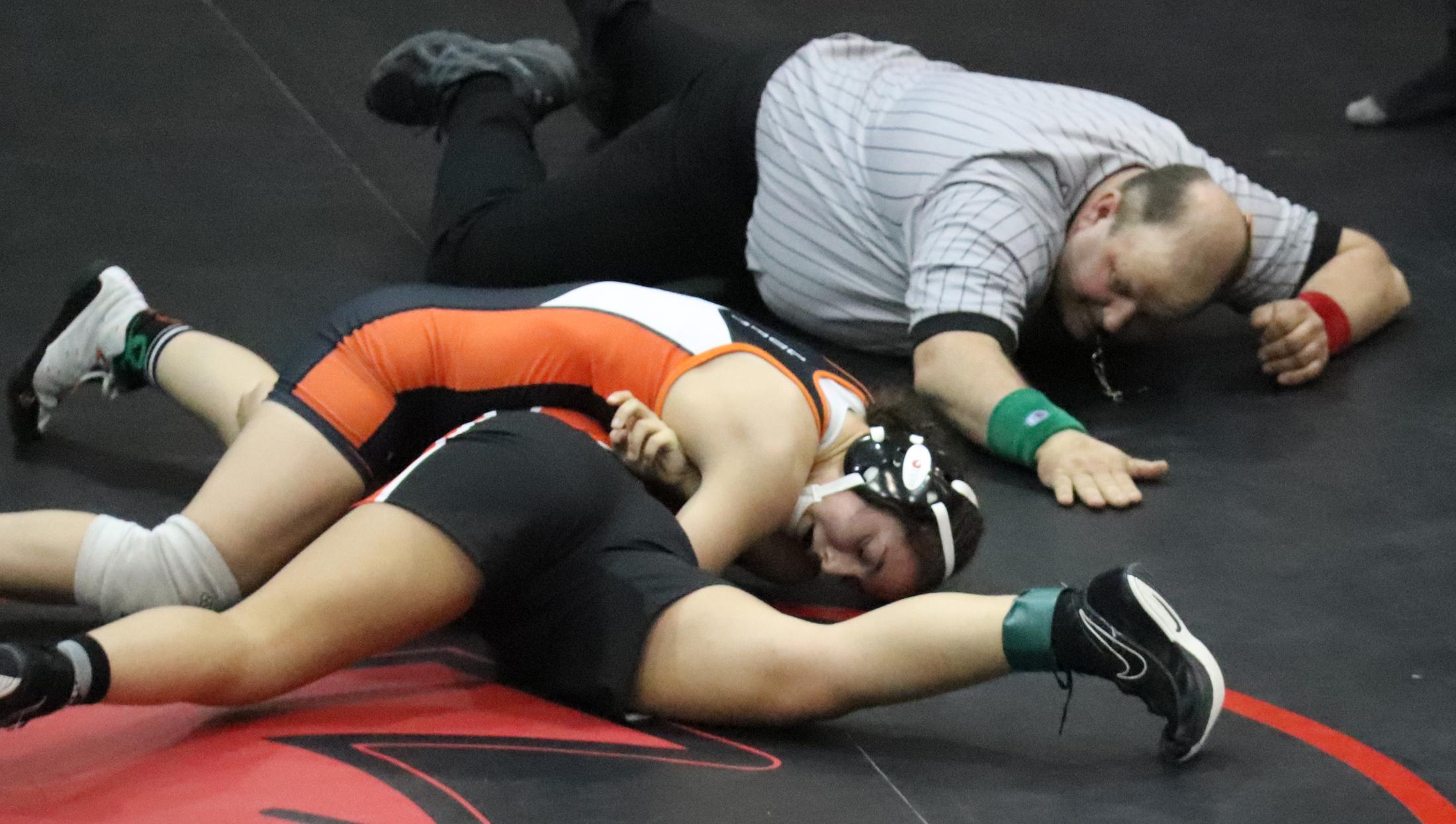 Sinnwell, Comet girls shine at Keith Vry Wrestling Invitational