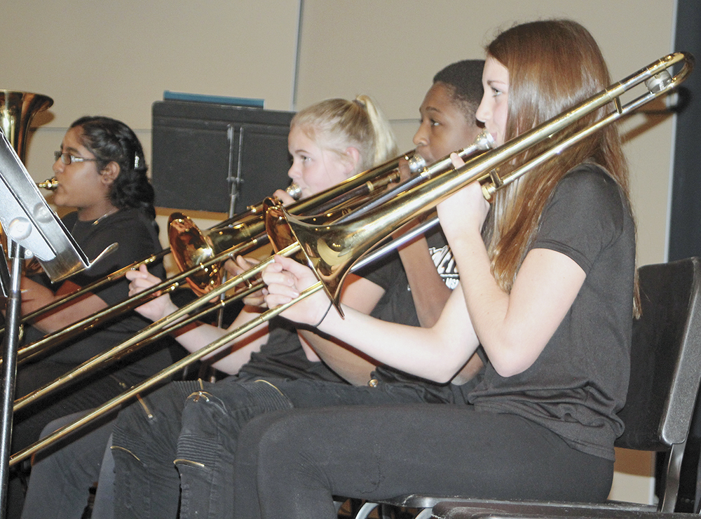 Middle school band, orchestra share the inspiration
