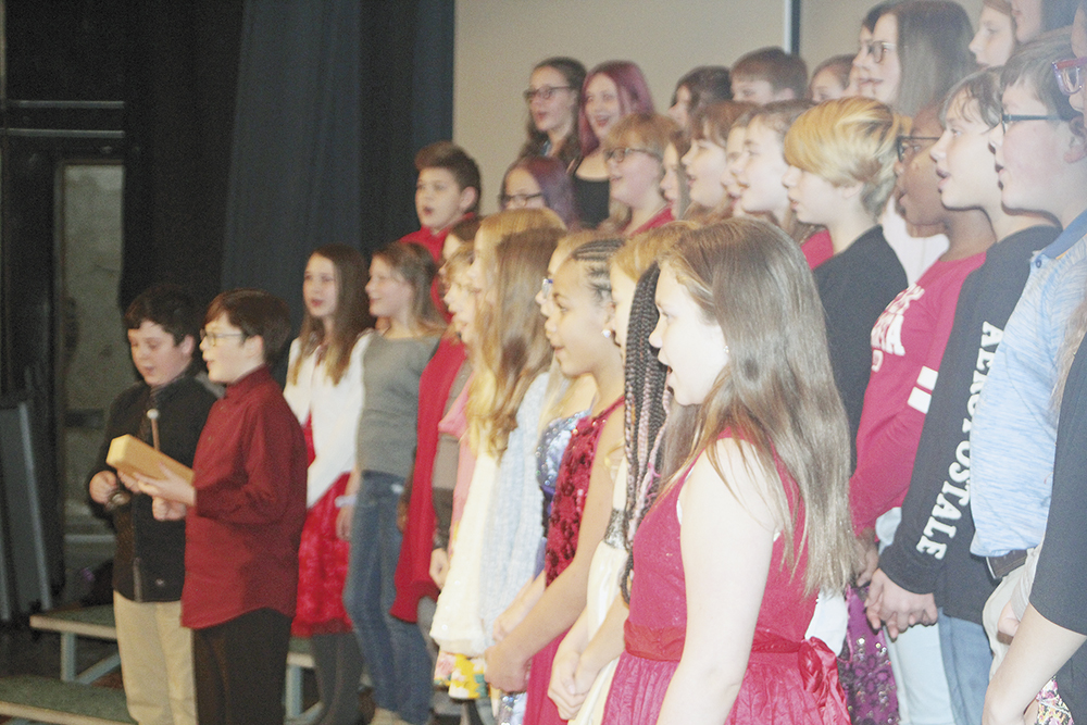 CCMS vocal choirs perform winter concert