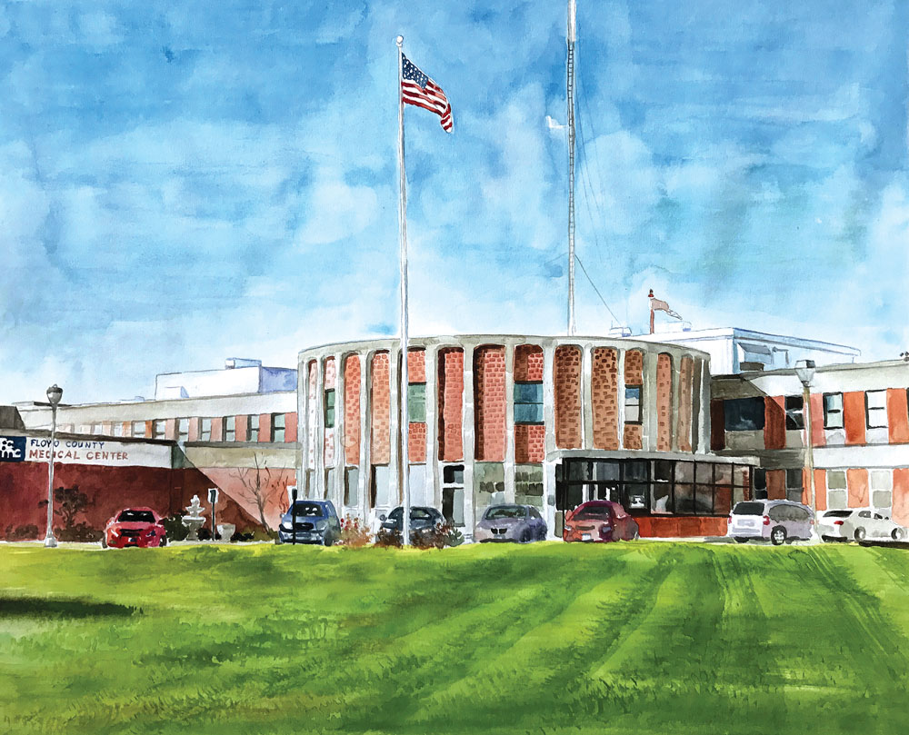 New Floyd County hospital board sets hearing on first tax asking
