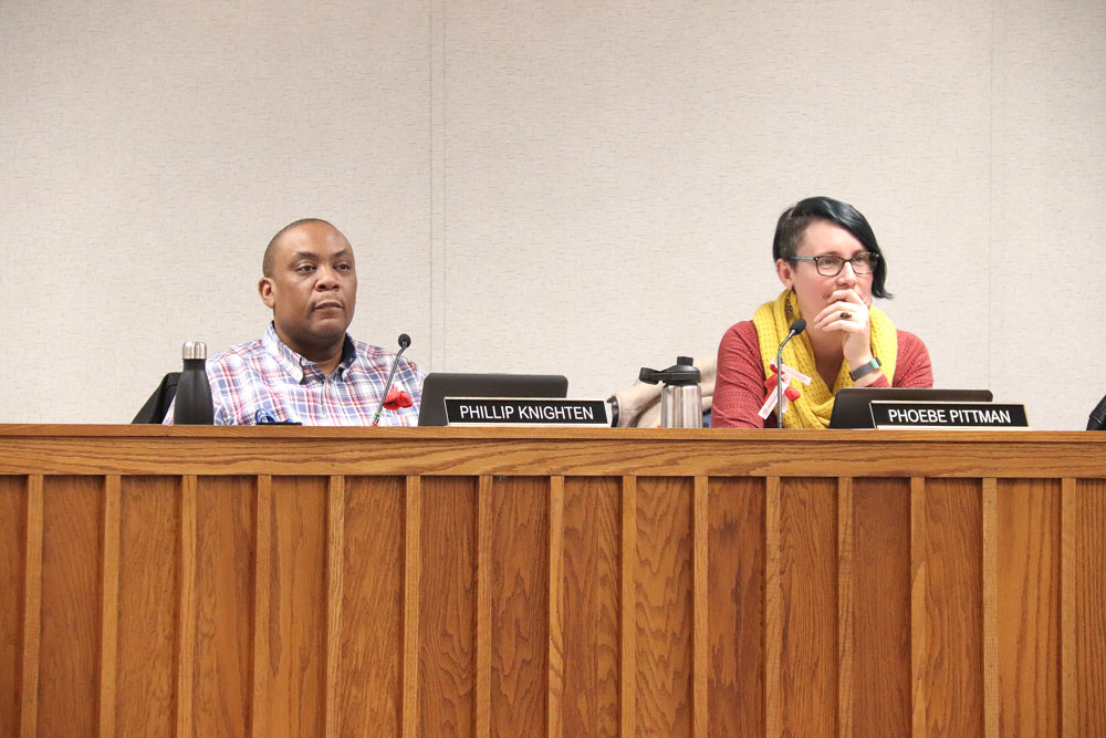 City Council tables talk once again concerning paved parking requirements