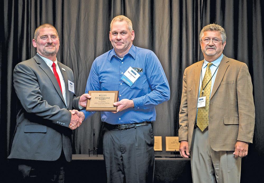 Nora Springs farmer, businessman receives environmental leadership award