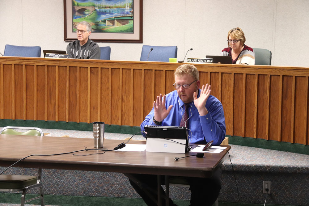 No glitches – Charles City Council makes smooth transition to remote online-accessed workshop