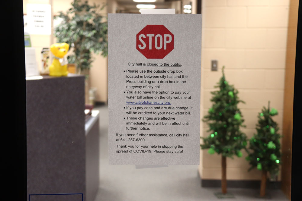 City departments restrict public access to facilities