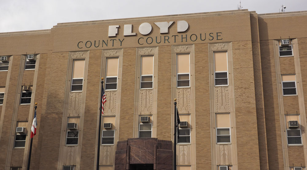 Floyd County will use checklist to determine entry to courthouse