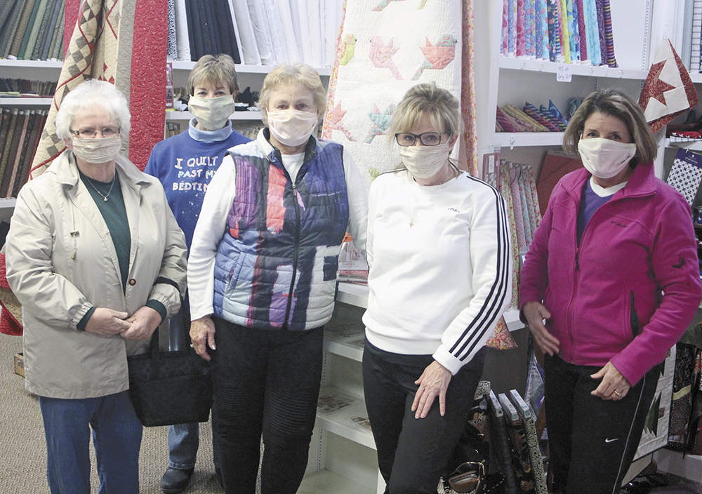 Local stitchers come through with masks for area nurses