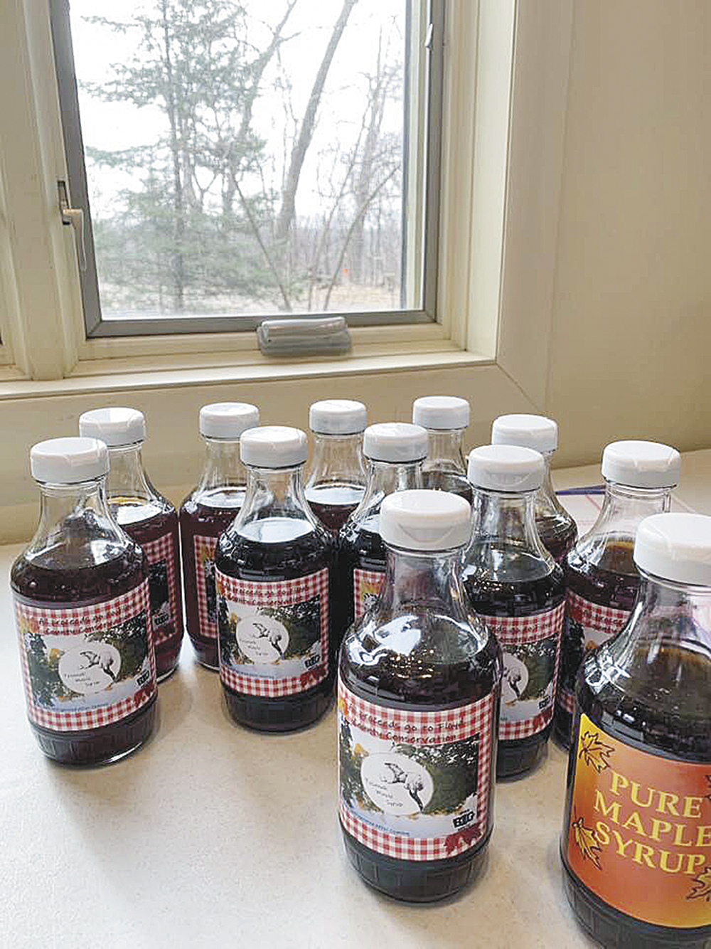 Tosanak maple syrup ready to enjoy
