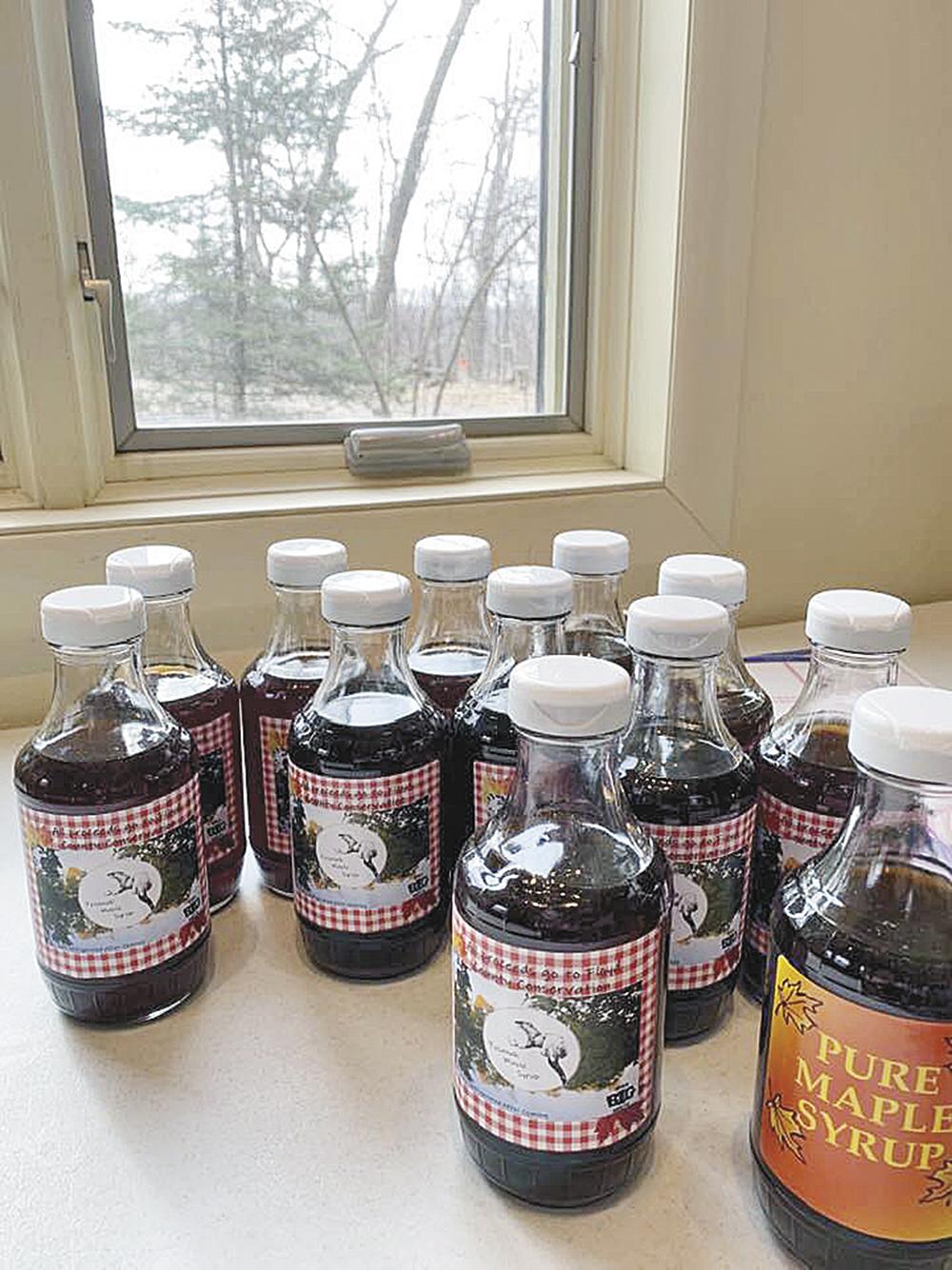 Tosanak maple syrup ready to enjoy
