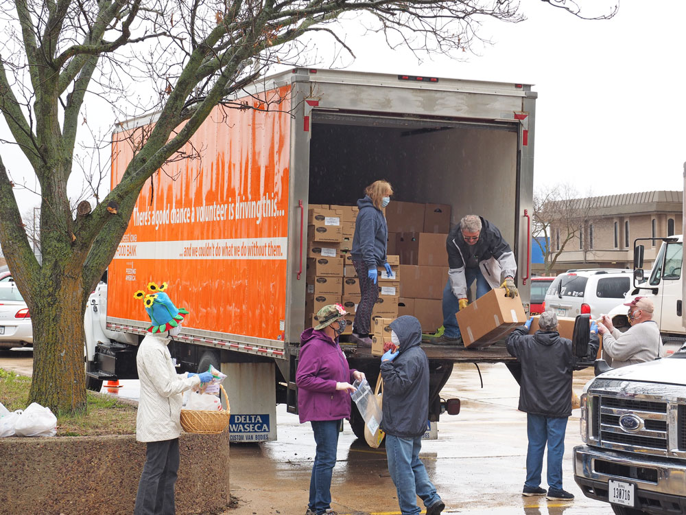 Food Bank Brings The Pantry To The People In Charles City Charles City Press