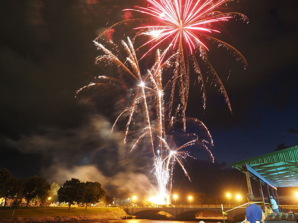 July 4 fireworks show back on in Charles City; details to follow