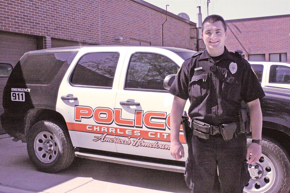CCHS graduate joins Charles City police force
