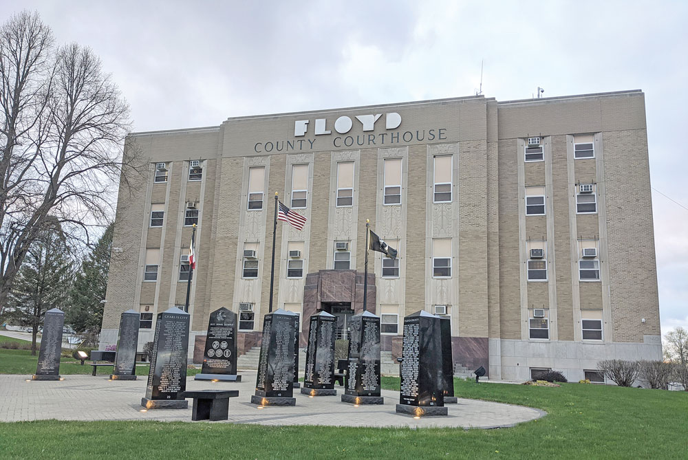 Floyd County courthouse reopens; supervisors pass ATV ordinance