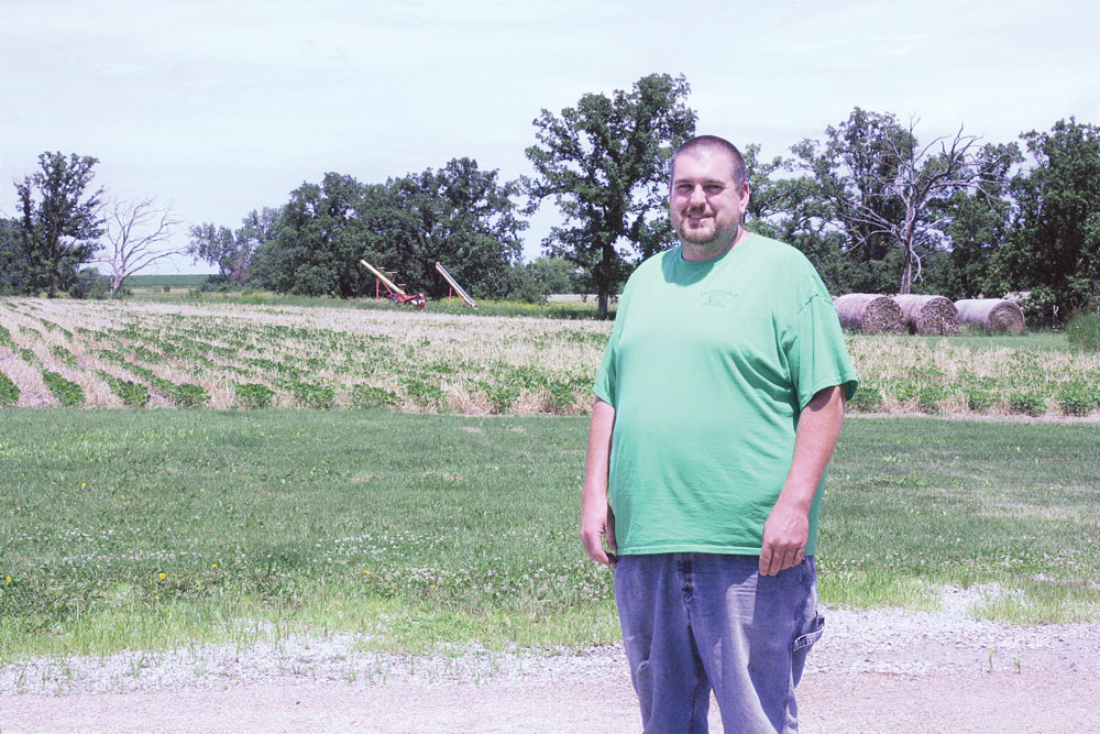 SOIL CONSERVATION: Floyd County farmer says no till, strip till have saved him time and money as well as increasing soil health