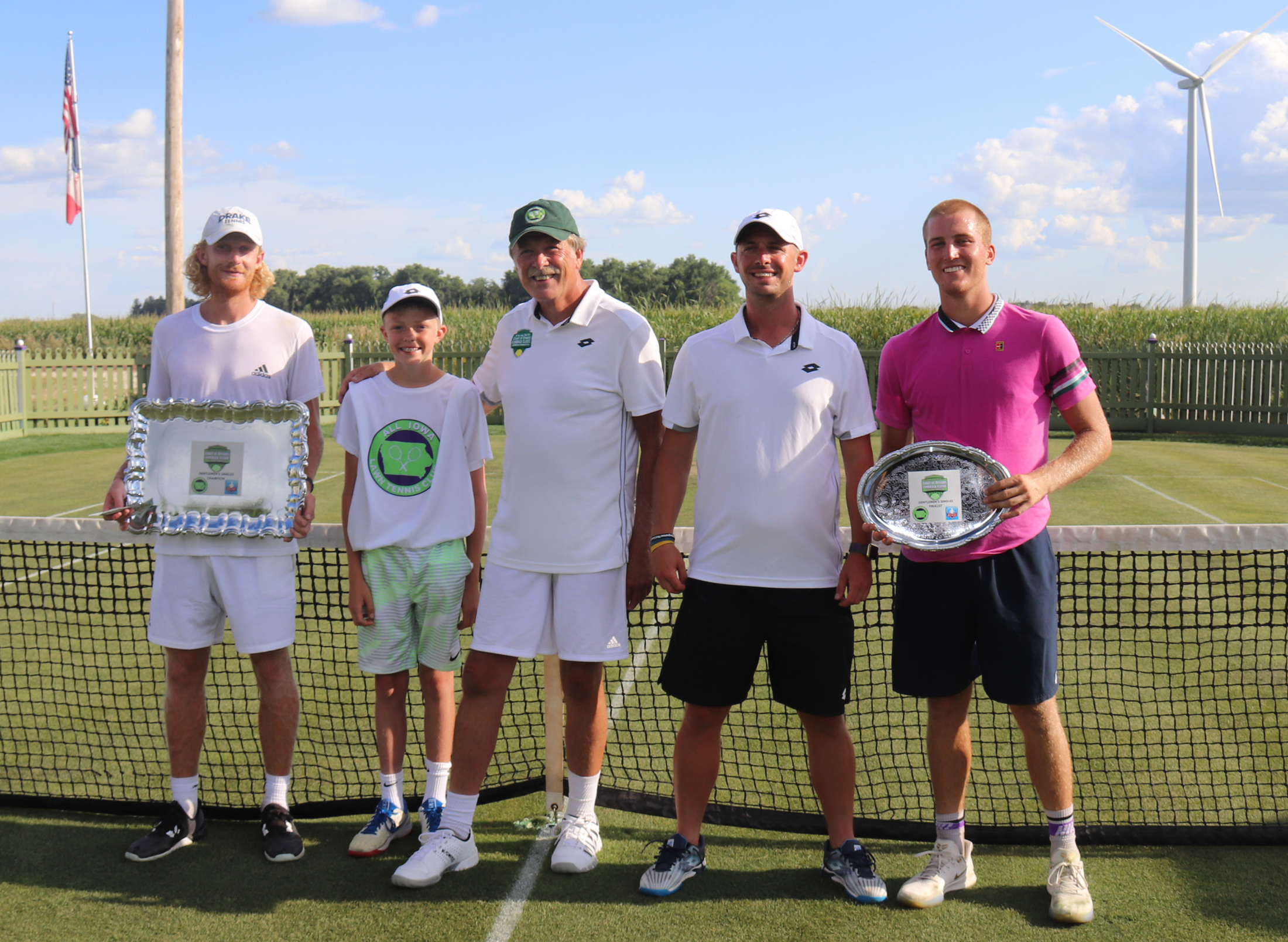 Players leave mark at Court of Dreams Comeback Tennis Series Classic