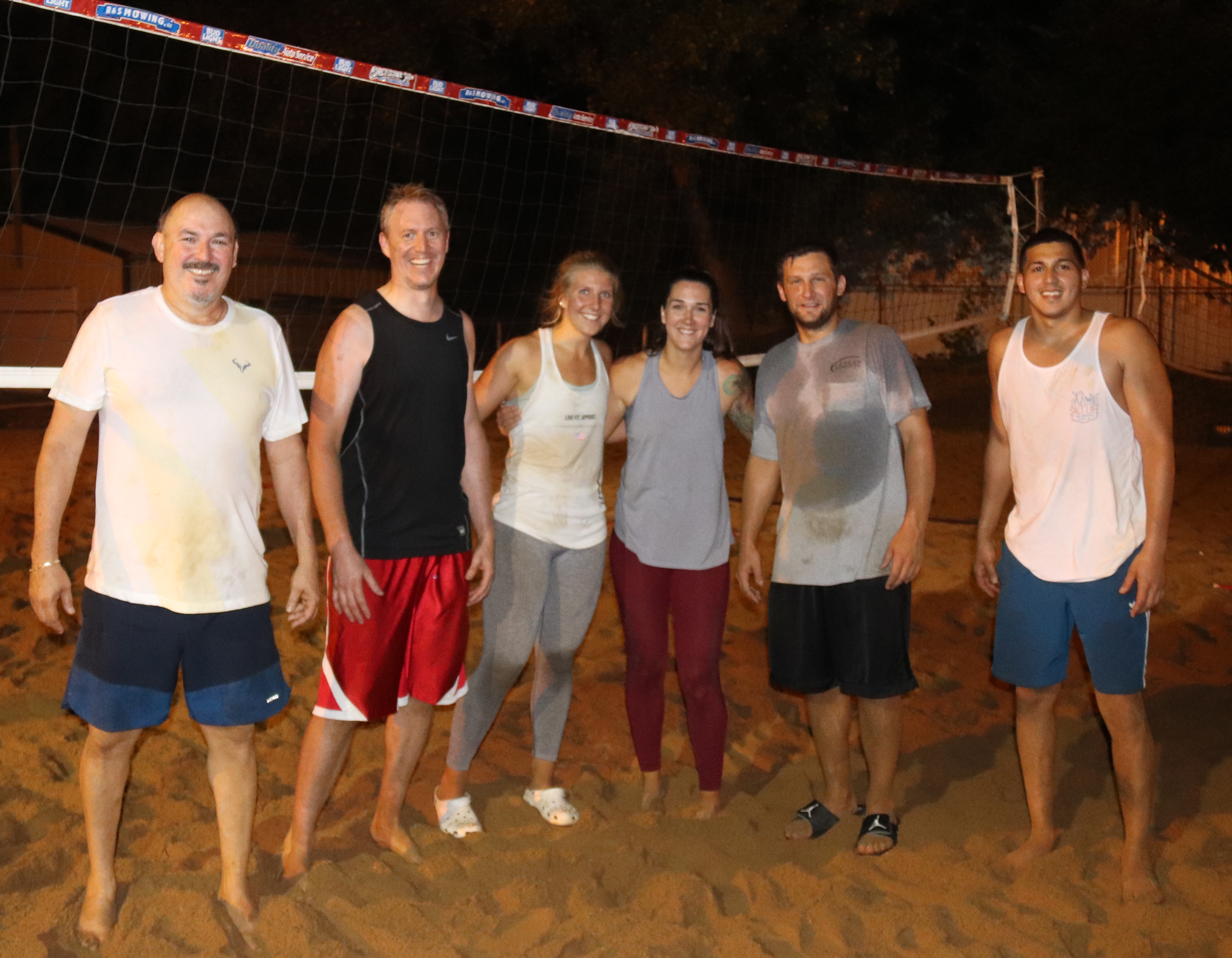 Snap Fitness wins Comet Bowl Sand Volleyball League tournament