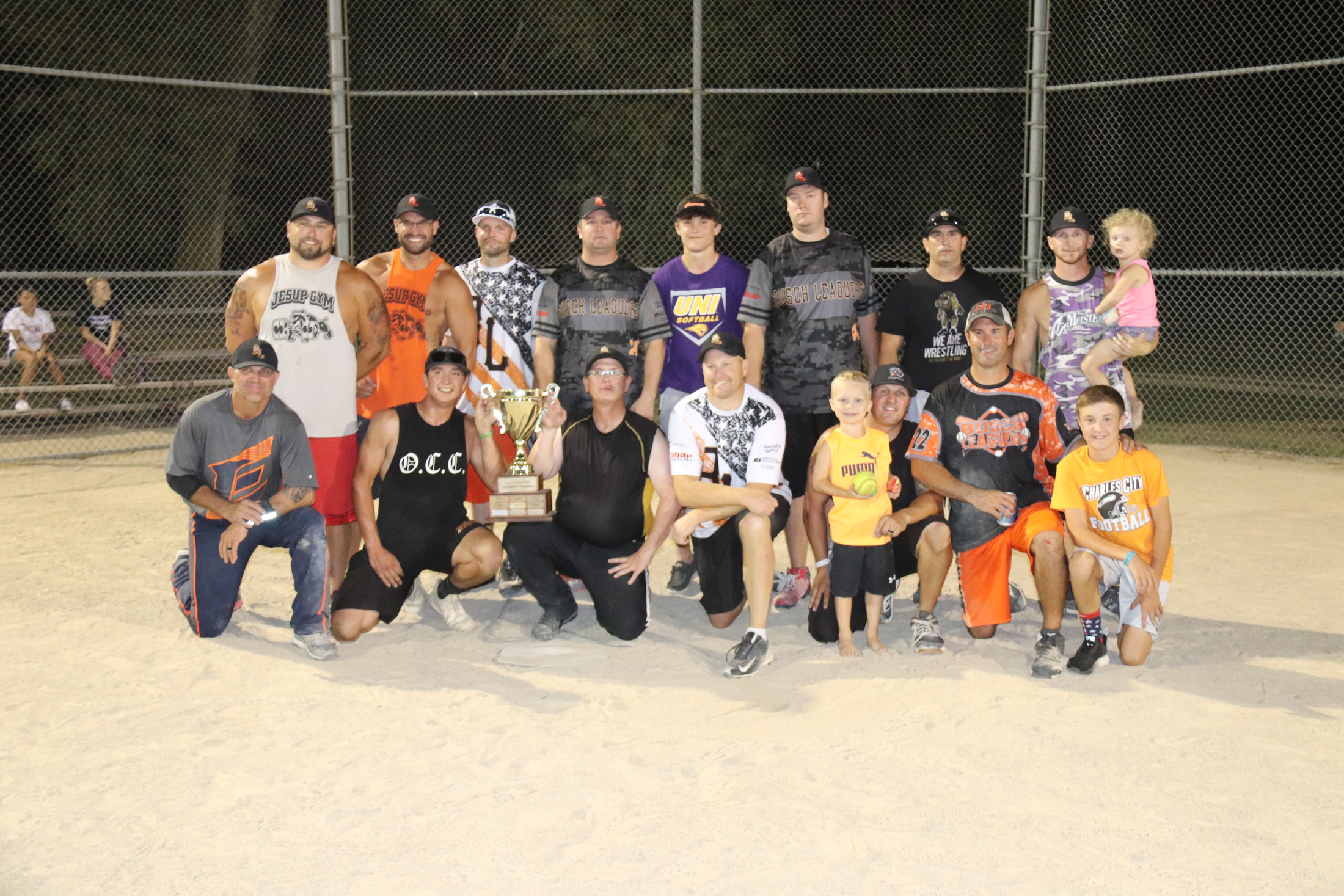 Busch Leaguers best Empire for CC Adult Softball League championship cup