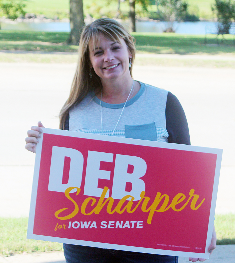 Scharper hopes to bring health care expertise to Iowa legislature