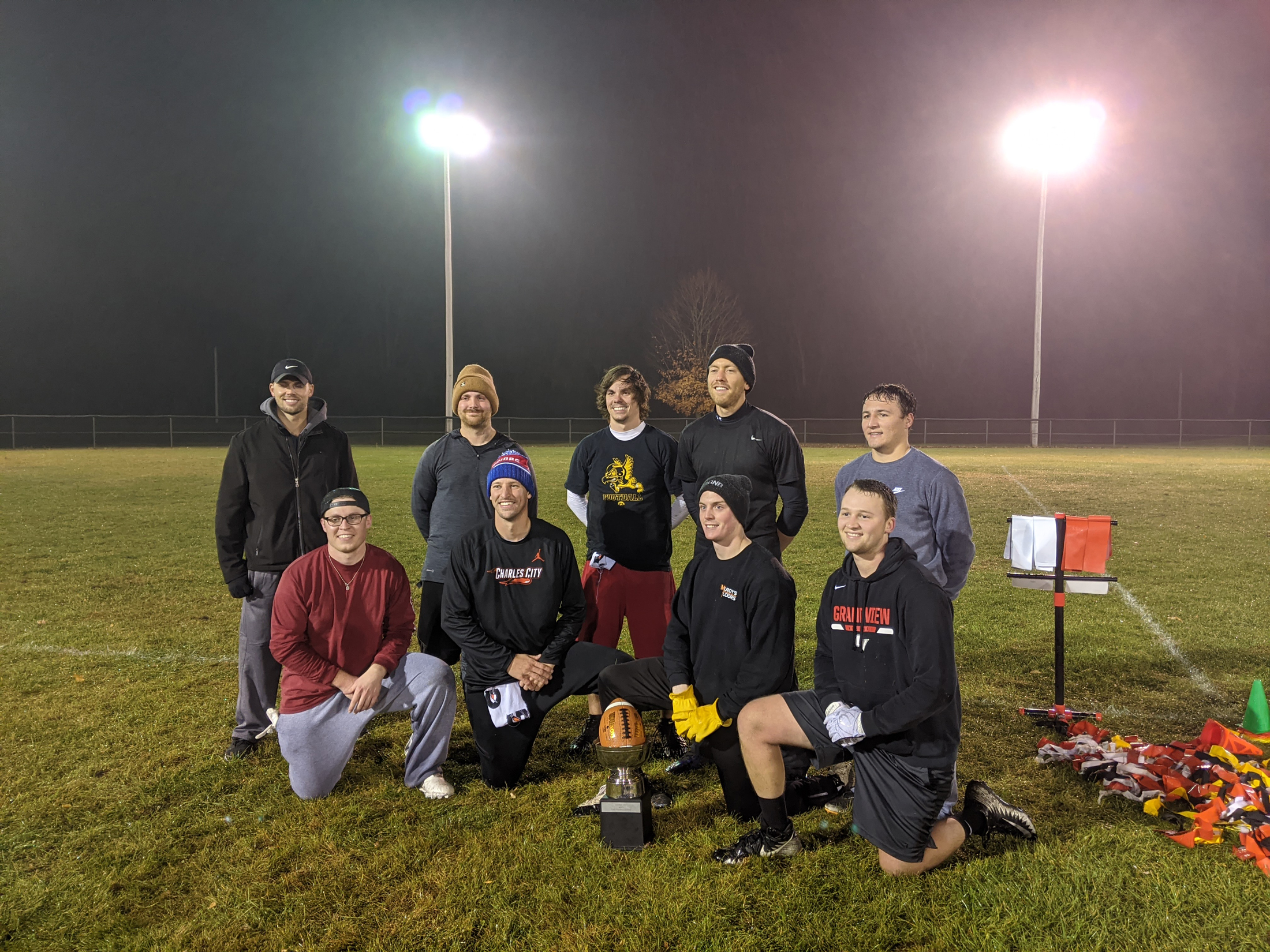 Hometown Dental defeats Dog Pound 66-36 in Flag Football championship