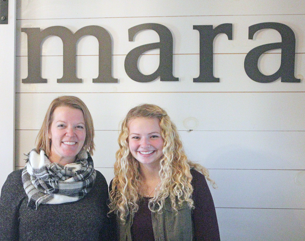 Destination shops like Mara help create a diverse downtown in Charles City