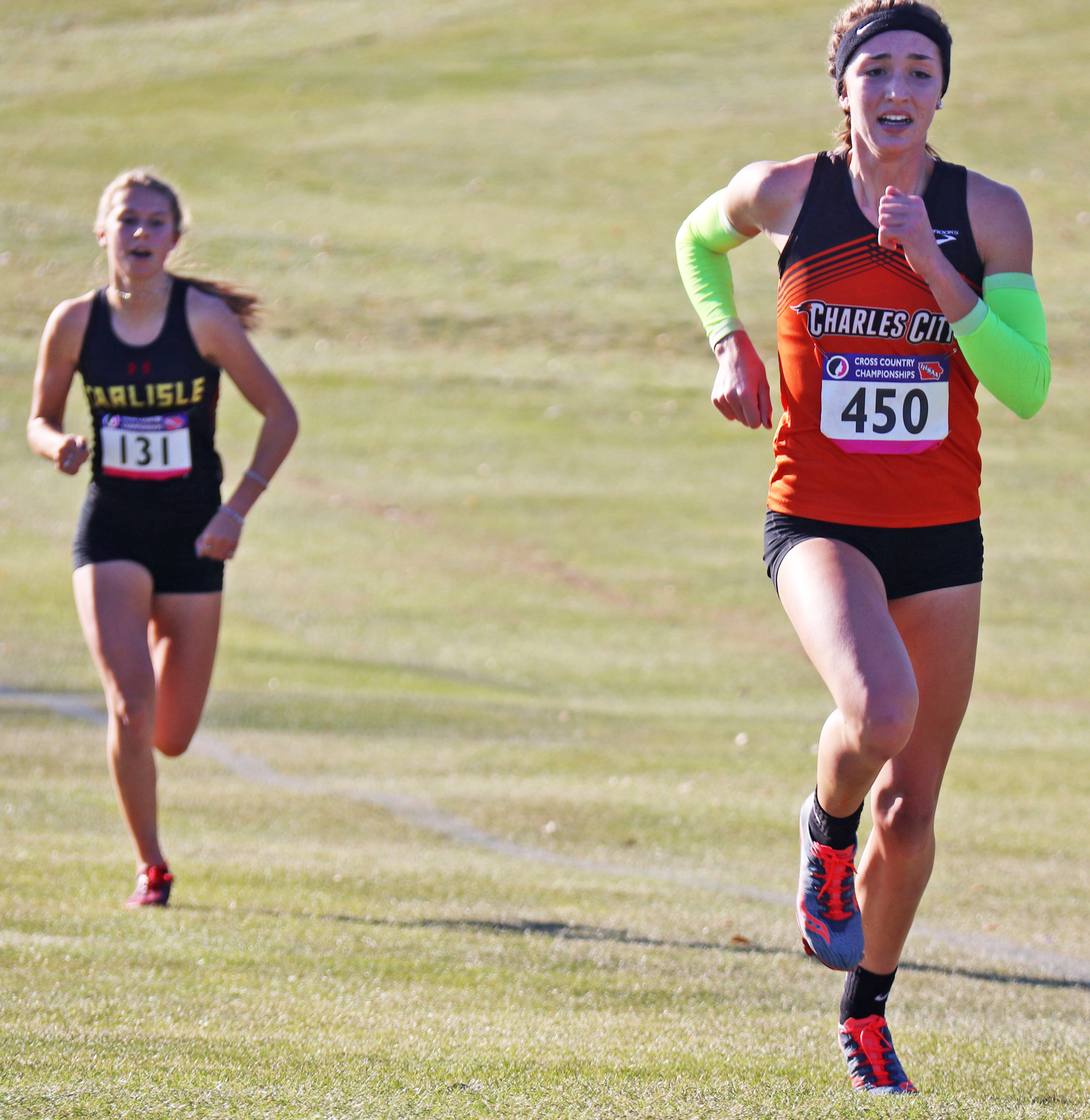 Kiki Connell 4th at State Cross Country Championships