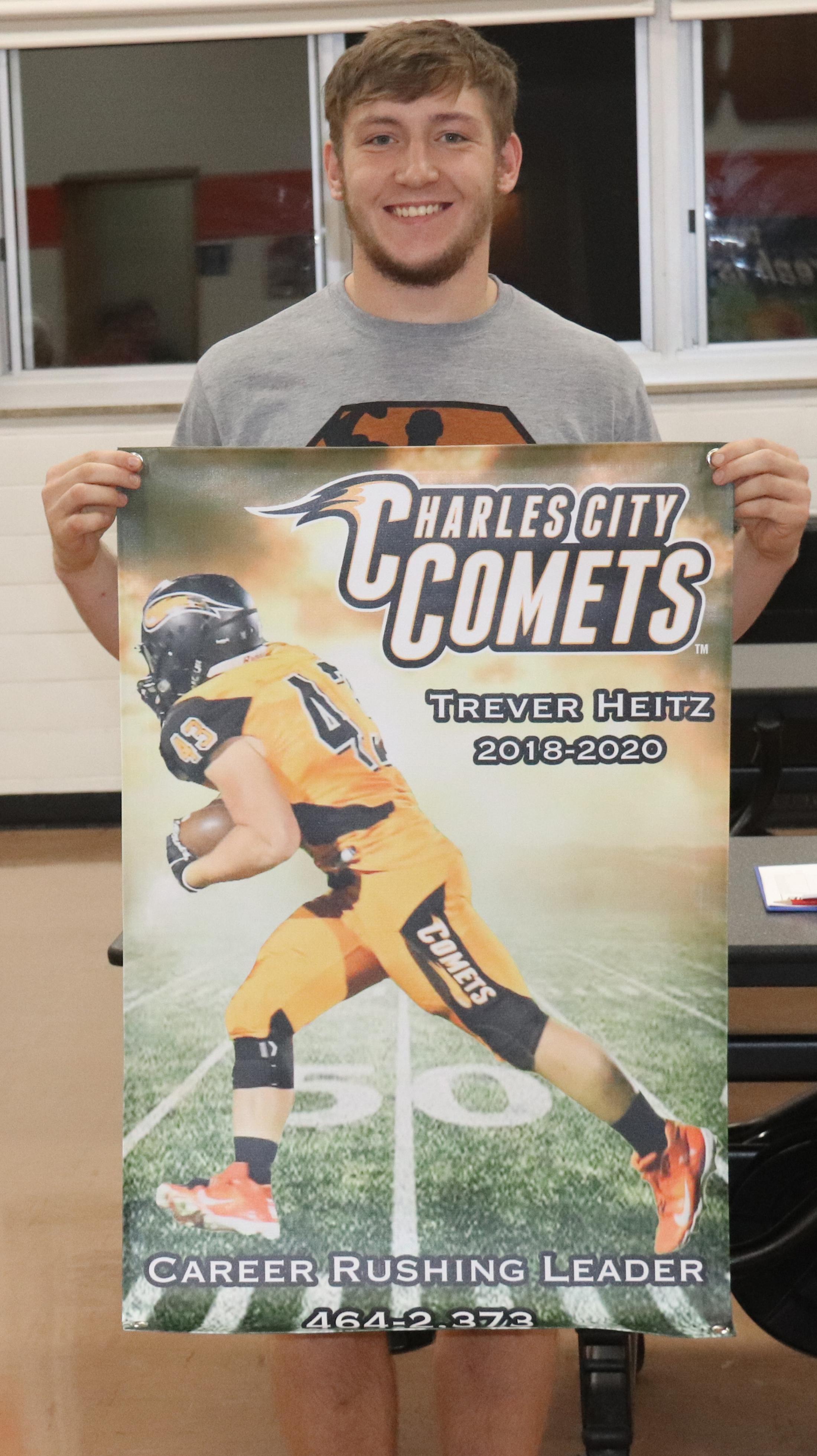 Comet football head coach steps down