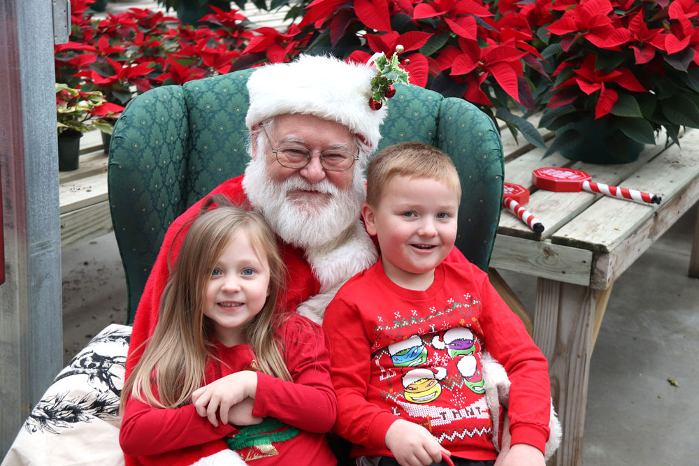 Letters to Santa accepted at Charles City Santa House, Otto's Oasis
