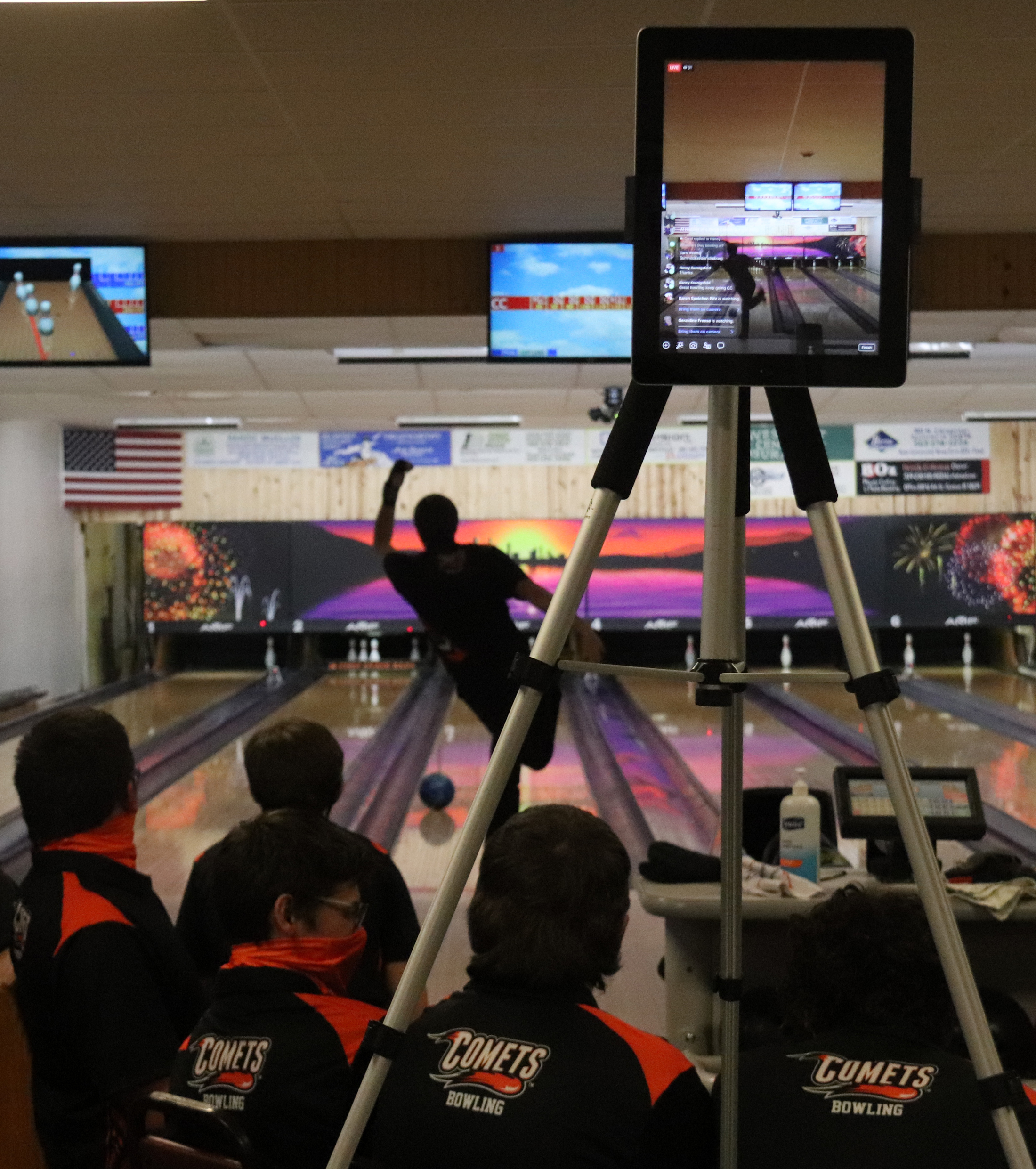 Comets record pair of bowling wins against Cougars