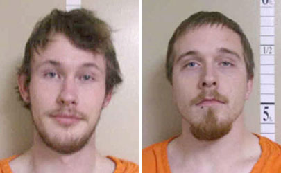 Two men charged with burglary of Floyd County farm buildings, also face previous charges